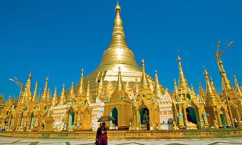 Cruise through Myanmar