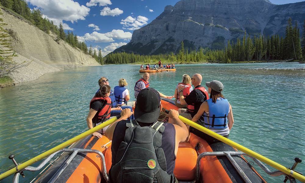 Bow River Float Trip, Canada