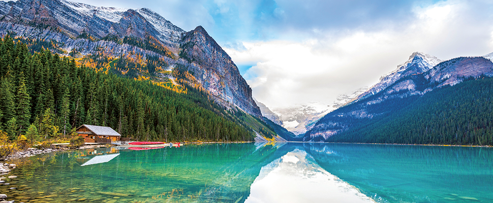 Discover the natural wonders of Banff National Park, Canada