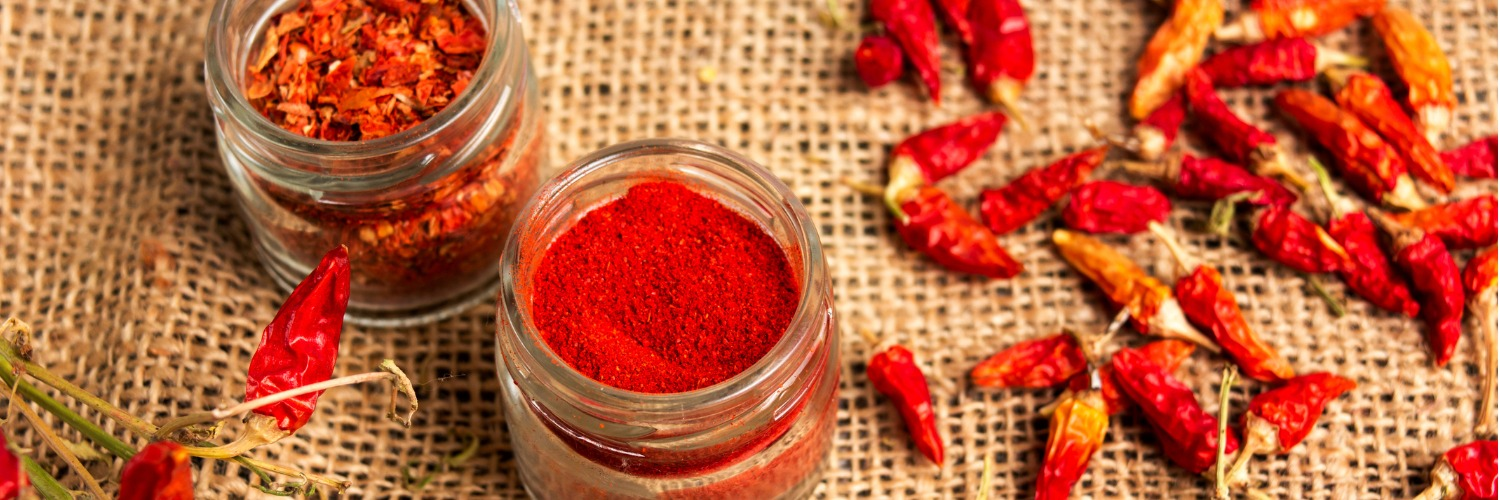 different forms of paprika