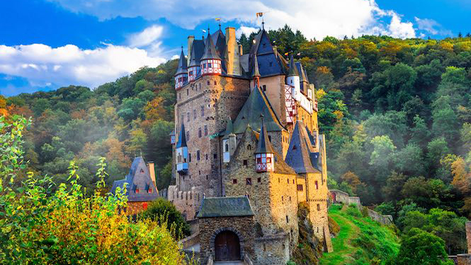 Burg Eltz on the Moselle River